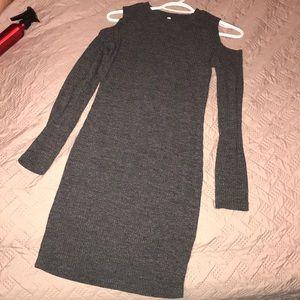 Dresses & Skirts - long sleeve shoulderless sweater dress